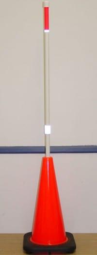 cone-and-pole